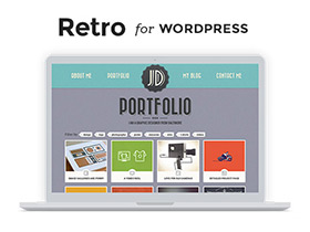 Retro 4: a Premium vintage theme for WordPress