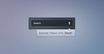 Voice search free PSD