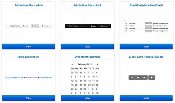 CSS snippets for Bootstrap