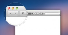 Finder window free PSD