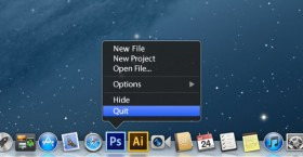 osx dock mac menu
