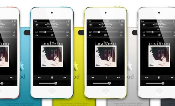 Ipod Touch PSD mockup