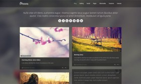 Obscura free html template
