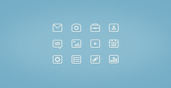 32x32px free PSD icons