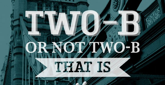TWO-B SLAB Typeface free font