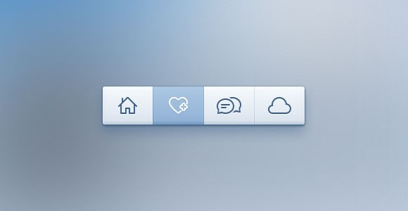 Toolbar free PSD