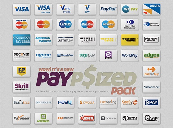 75 free payment icons