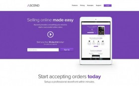 Ascend - PSD ecommerce template