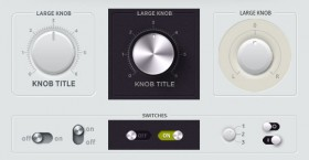 Free PSD knobs
