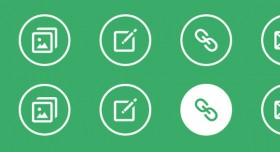 Simple icon hover effects CSS