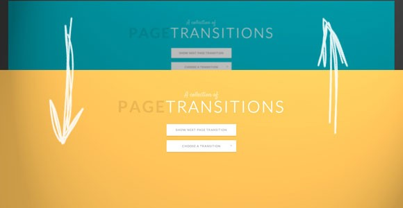 CSS page transitions