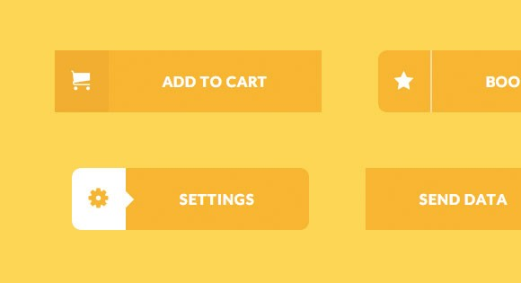 Creative buttons effects CSS