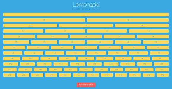 Lemonade - Simple flexible grid system