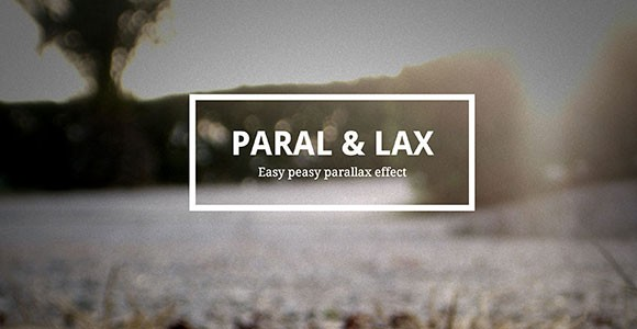 Paral & Lax - Easy parallax effect