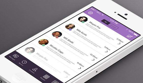 Viber for iOS7