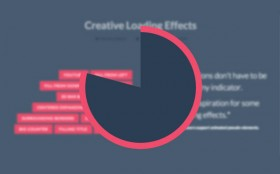 CSS creative loading effects