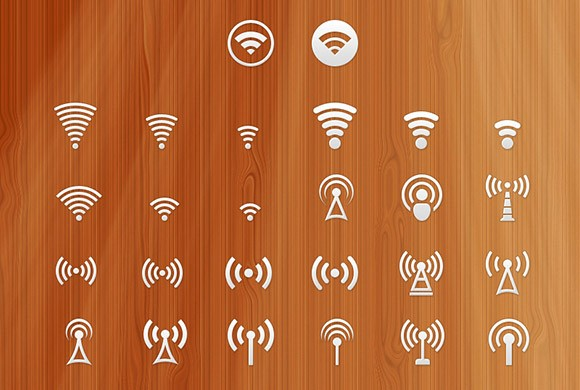 26 Signal icons PSD