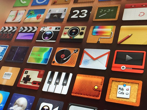 Adore - Free icon set for iPhone