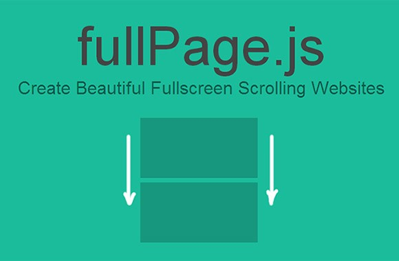 fullPage.js - Fullscreen scrolling pages