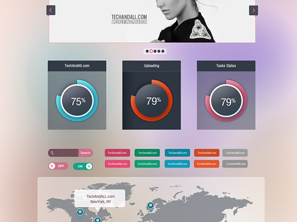 Free Web W3rk – Free UI components download
