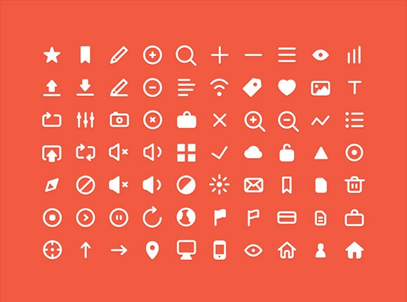 70 free PSD small icons