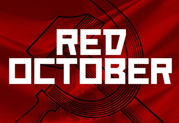 Red October free font