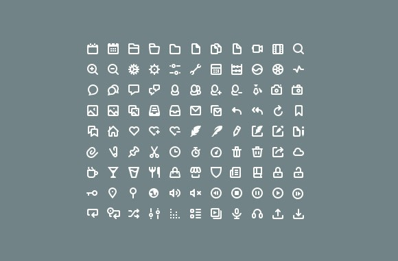 99 beans - Free PSD icons