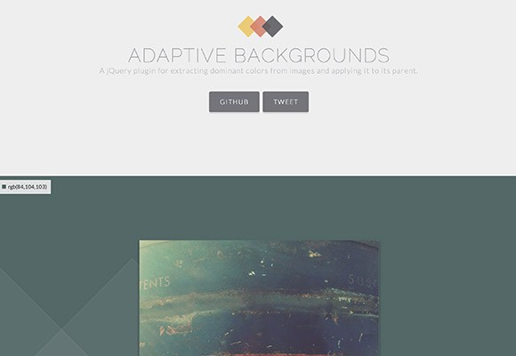 Adaptive Background - JQuery plugin