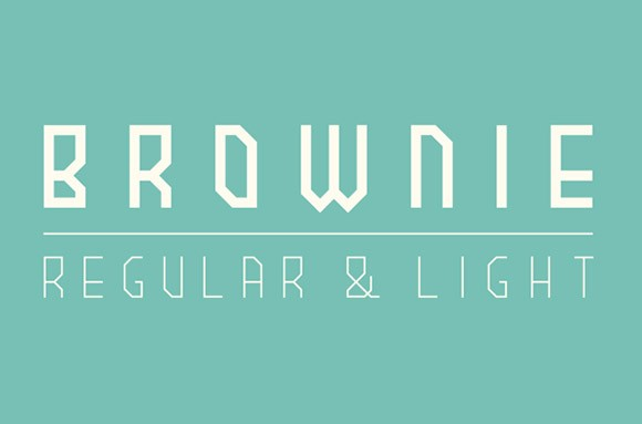 Brownie free font
