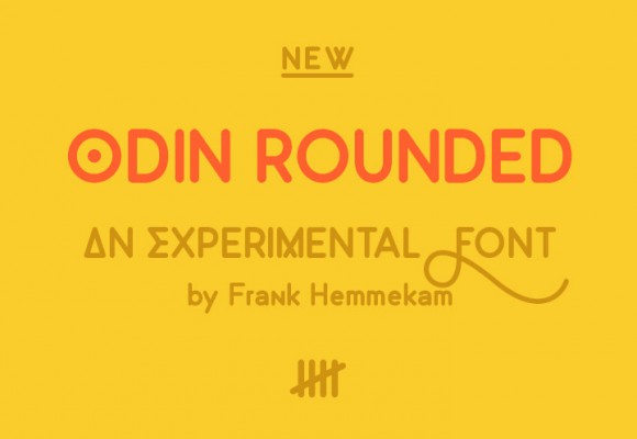 Odin Rounded free font