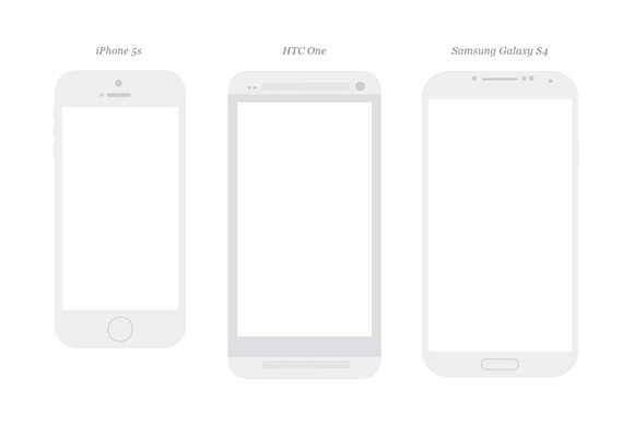 18 free mobile devices mockups