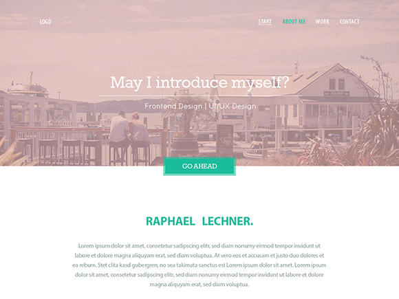 Variety - Free PSD website template