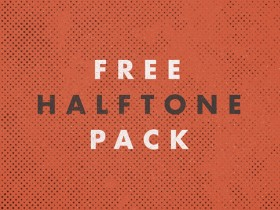 Free Halftone Pack PSD