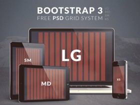 Bootstrap 3 grid system - PSD