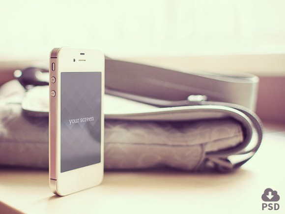 5 photorealistic iPhone mockups