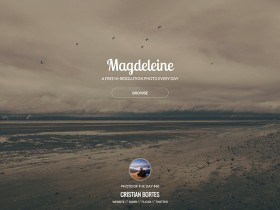 Free hi-res photos on Magdeleine