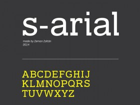 S-ARIAL free font