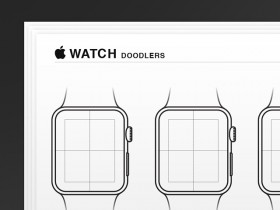 Apple Watch wireframes - AI
