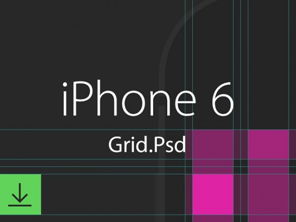 iPhone 6 grid template
