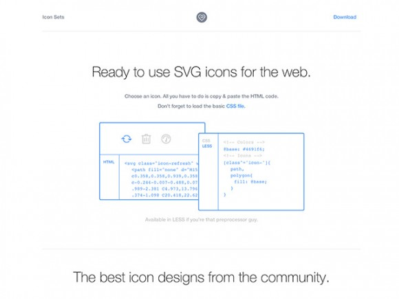 SVG icons ready to be used