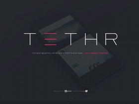 TETHR - iOS design kit