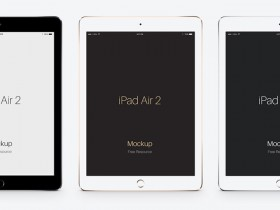 iPad Air 2 - PSD mockups