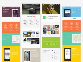 Beetle - Free HTML5 template for designers