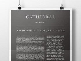 Cathedral free font