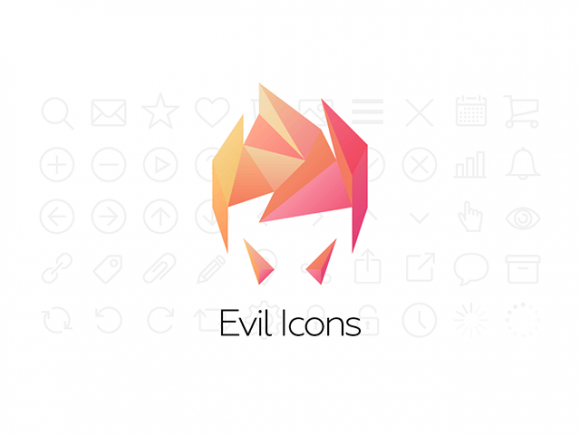 Evil Icons - 56 SVG icons