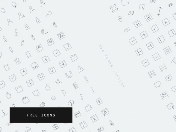 CompassCons - 300 free Sketch icons