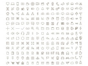 Tonicons - 200 outline icons