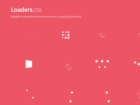 Loaders.css - Loaders collection
