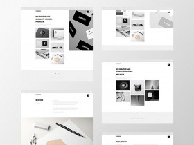 Thomsoon - Free portfolio template