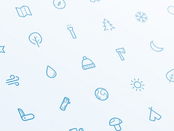 21 outdoor Sketch icons